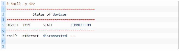 Cài đặt IP tĩnh trong centos 7